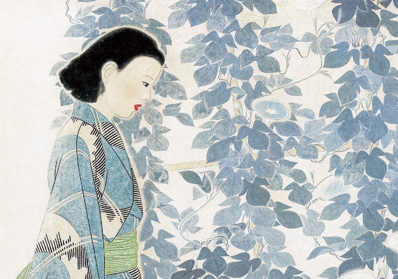 林之助畫作 向日本畫壇權威挑戰成功