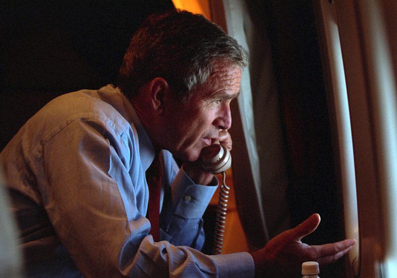 小布希總統教我的人生功課:原諒