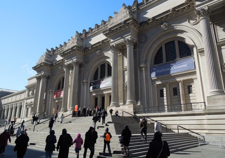 美國最大—紐約大都會博物館