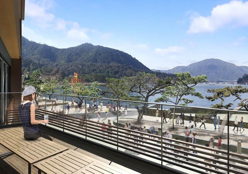 搭船到星巴克!飽覽日本海上鳥居美景