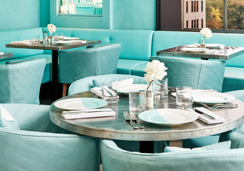 Tiffany首間咖啡店 在紐約夢幻登場