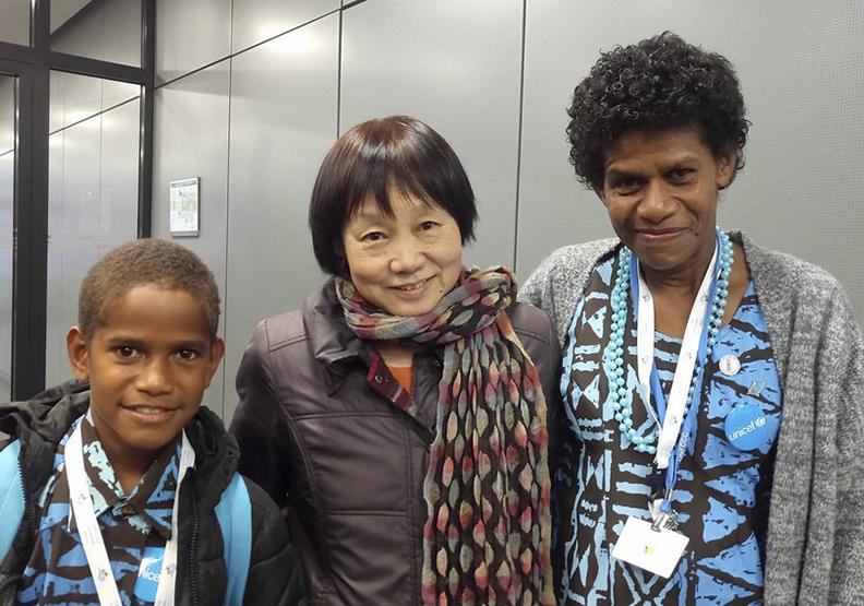 斐濟主席國,COP23的焦點議題——人類移動