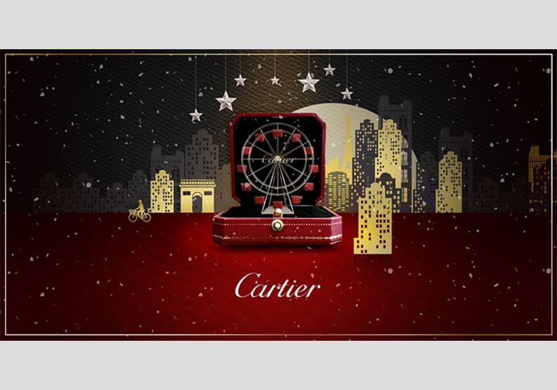 卡地亞紅盒幻化摩天輪 轉出溫馨歡樂的祝福