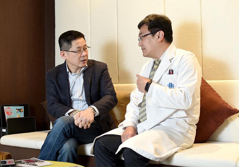 卸下教師光環,林偉賢用人生學習的健康課