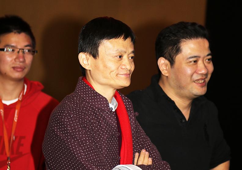 馬雲說,中國未來只有兩種人。(資料照,陳之俊)