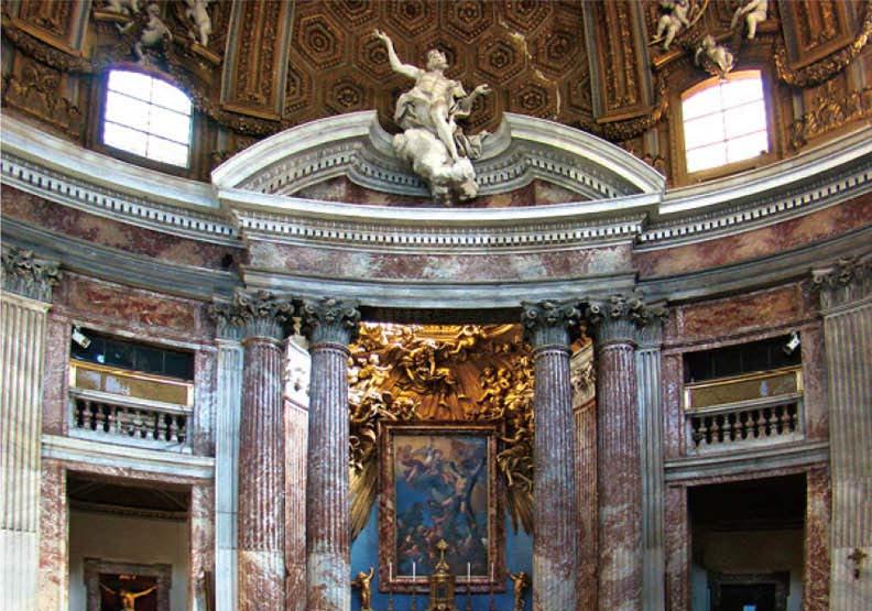 羅馬聖安德烈教堂 貝尼尼自傲的巔峰之作