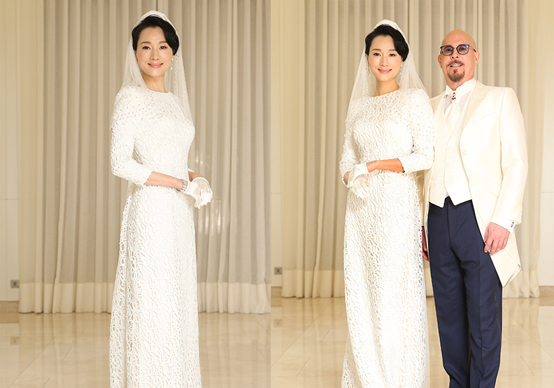 Lanvin藝術總監Olivier Lapidus量身打造高級訂製手工婚紗