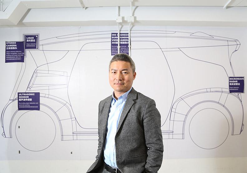 智能駕駛應用盟主 41歲吳甘沙創意無極限