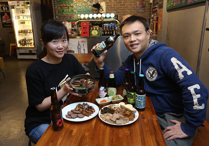 牛肉麵配精釀生啤  獨特滋味征服饕客