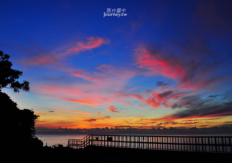 台東、太麻里:多良車站.破曉後的海島與星空