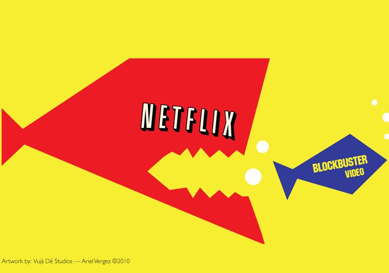 差一步就能扳倒Netflix 百視達自尋死路