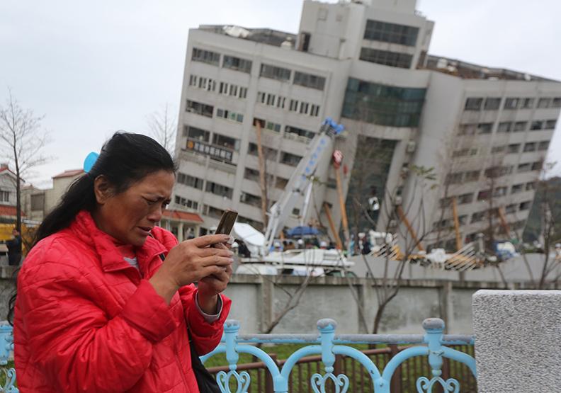 【圖片集】花蓮大地震 遠見帶回第一手震災現場畫面
