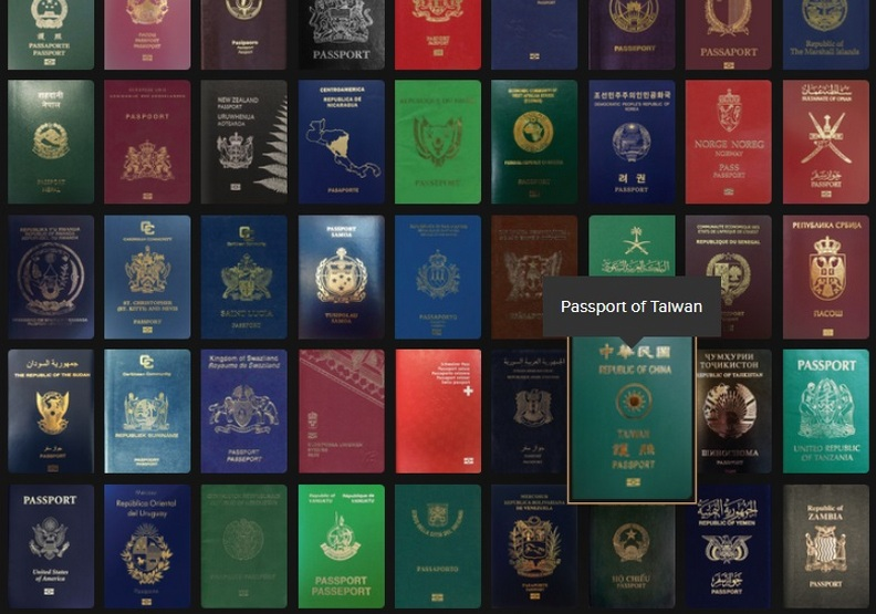 世界護照指數排名:台灣護照好用嗎?