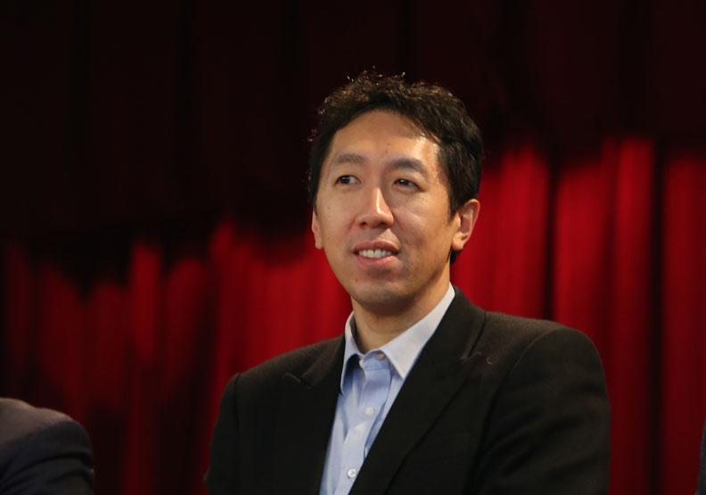 吳恩達三路並進 立志培養100萬個AI專家