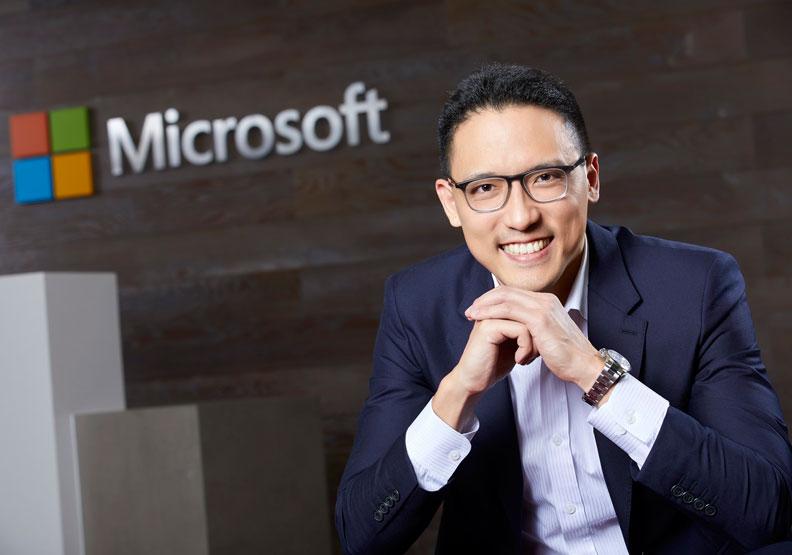 台灣微軟最年輕總經理 孫基康拚AI再創驚奇