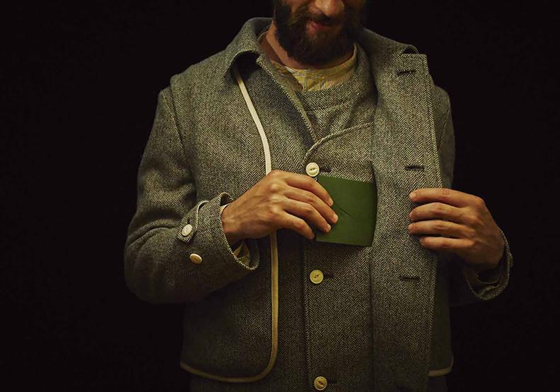 日本時尚設計師 用服裝為職人說話