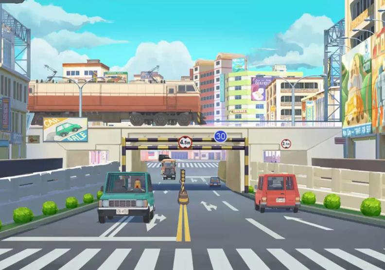 將台南放進動畫裡 演繹台灣風格