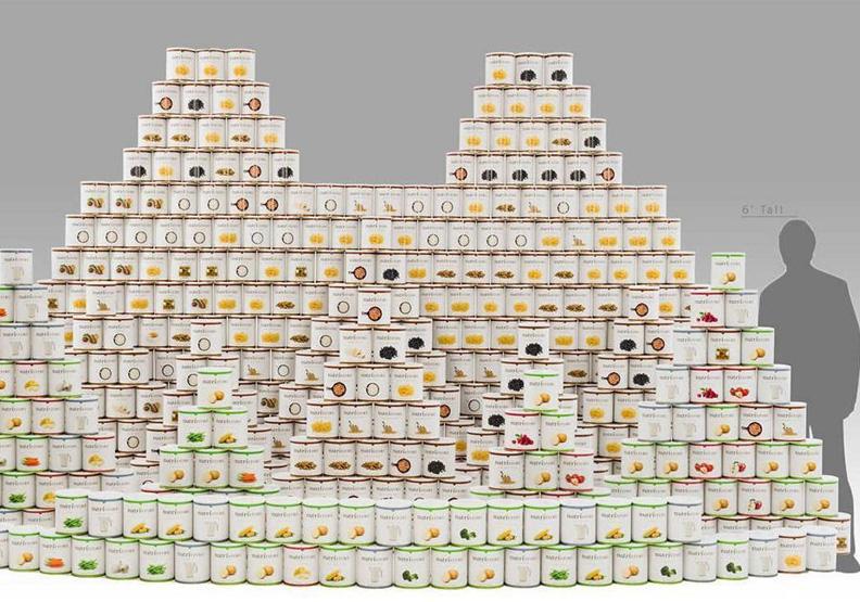 為末日買保險?美好市多賣6,000美元罐頭 一家四口夠吃一年