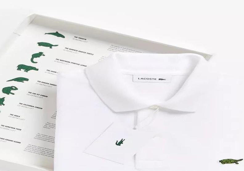 除了品牌logo鱷魚 這些瀕危動物也上了POLO衫