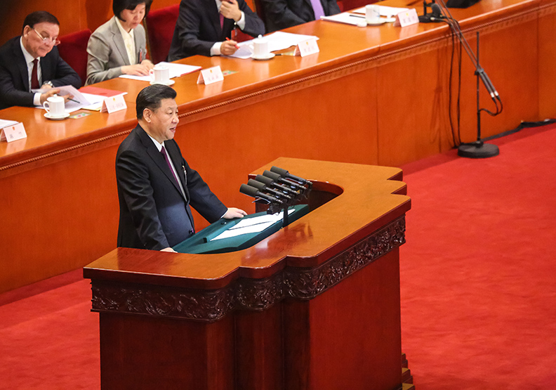 習近平4段話獲得如雷掌聲 台灣人該小心面對?