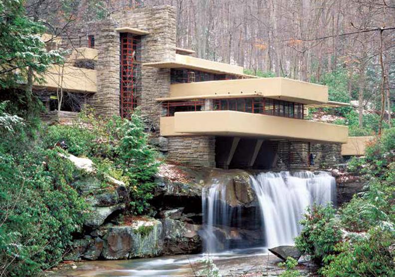 和著水流潺潺 建築大師萊特的落水山莊