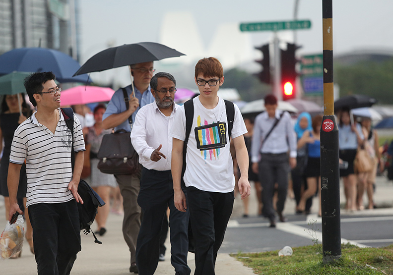 新加坡是多元種族的國家。遠見陳之俊攝影