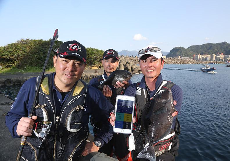 磯釣達人App上線 用大數據探索海洋樂趣