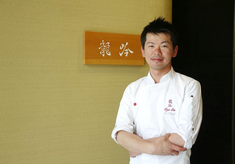 最懂台灣食材的日廚 祥雲龍吟登台摘二星