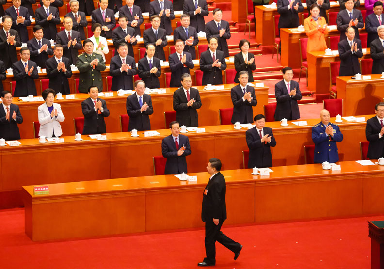 馬凱碩認為,習近平取消任期制,被西方人視作獨裁,但他看卻是中國歷史影響所致。遠見資料照