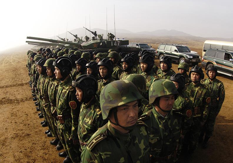 回顧扁政府時老共軍演半年 習大大對小英溫和多了?