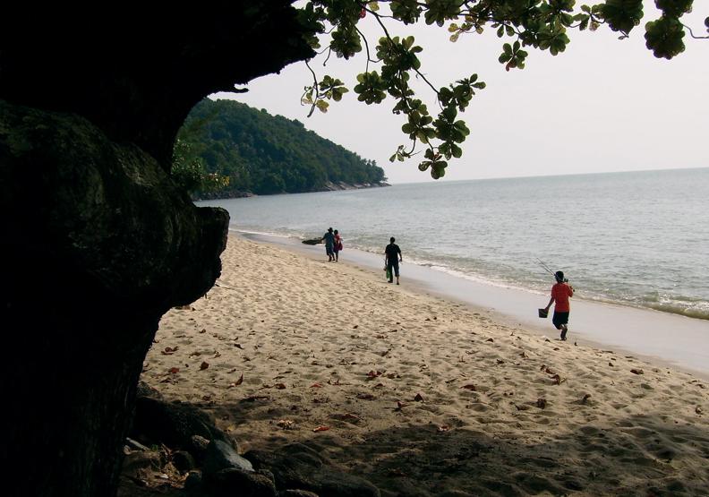 戀念檳榔嶼:私密天堂,大沙埔