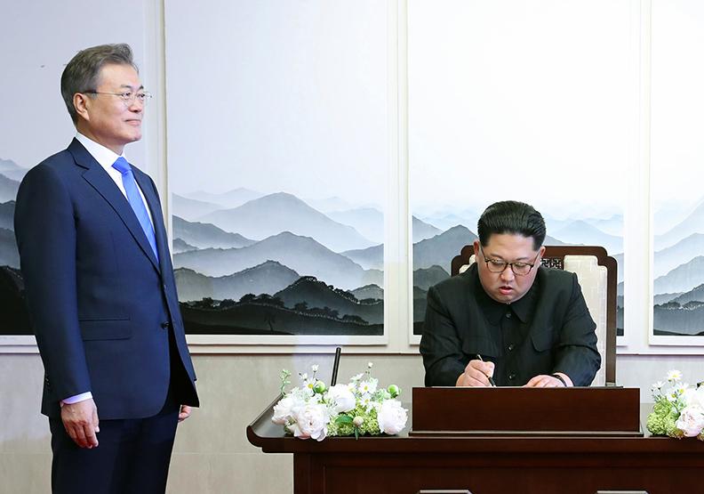 南北韓談判、內政受肯定 文在寅支持度攀升