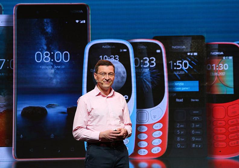 Nokia注入新創魂 卡位全球第六大手機廠
