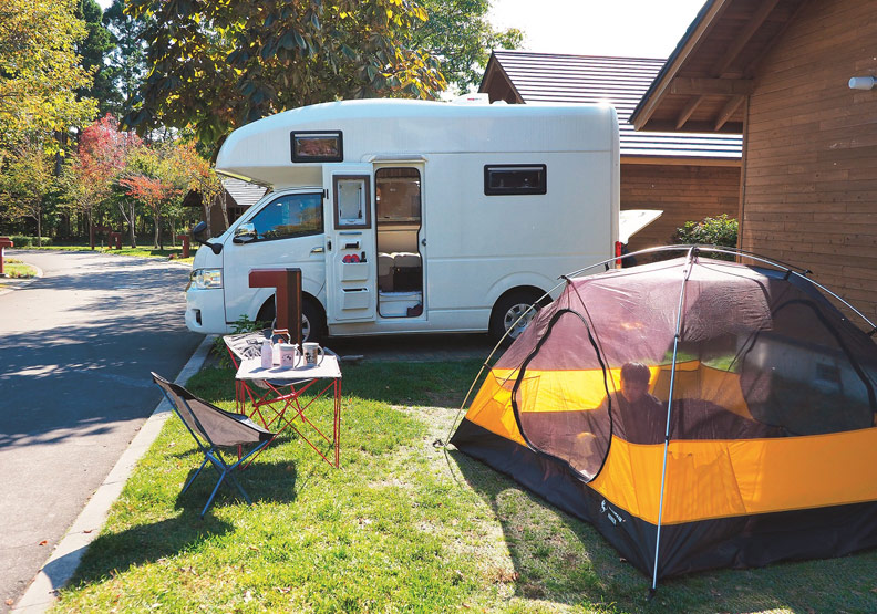 出國露營去!如何尋找北海道營地