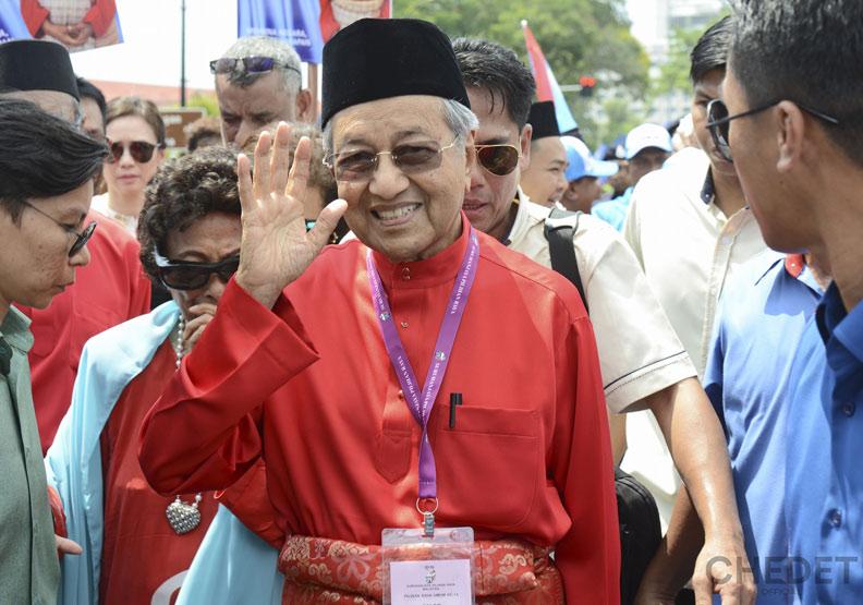 馬來西亞變天 獨立60年來首次政黨輪替