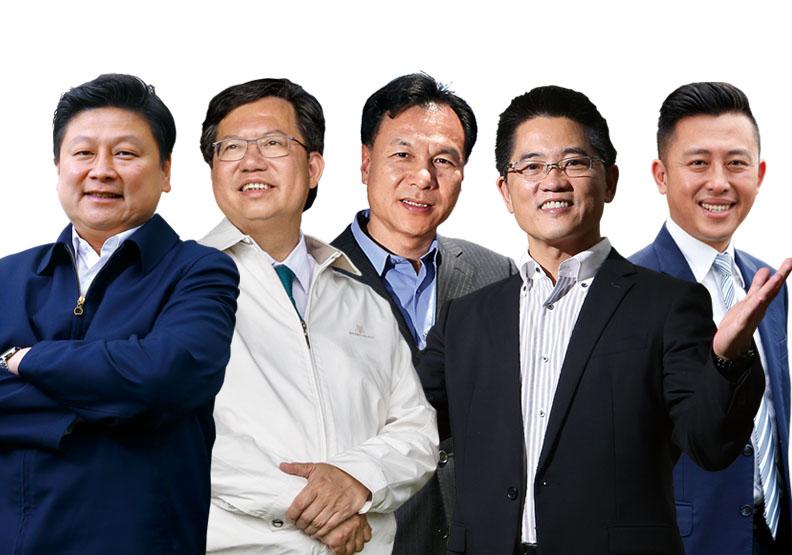 五位蟬聯5星縣市長:鄭文燦、林智堅、傅崐萁、黃健庭、劉增應