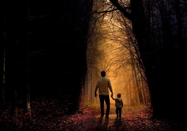 雖然孩子走了,但會永遠活在父母心裡