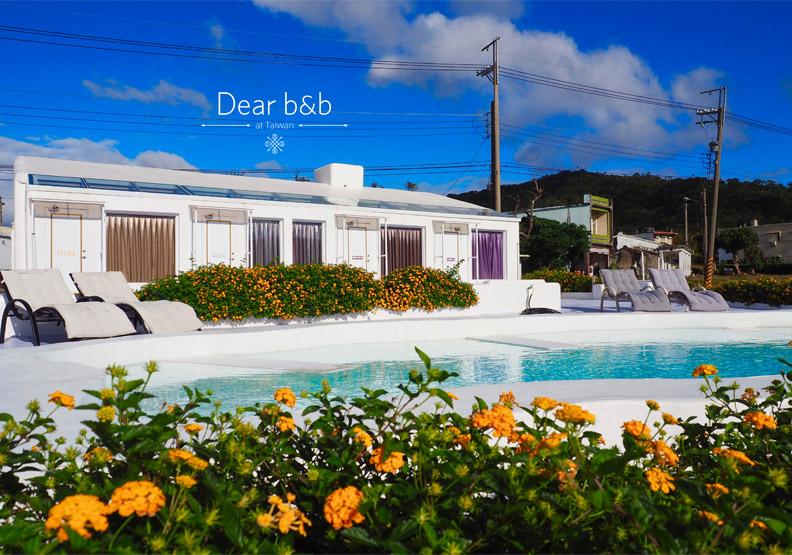 墾丁「小屋Villa」 星空綠田間的夢幻泳池