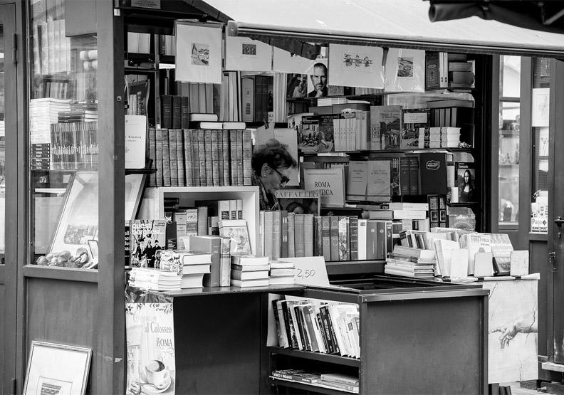 如果你喜歡書店,就該買書