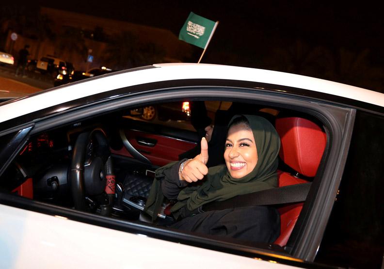 沙國女人不要太開心,開放女權不是為了妳…