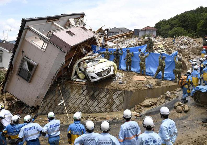 日本豪雨超過百死 防災模範生這次為何這麼慘