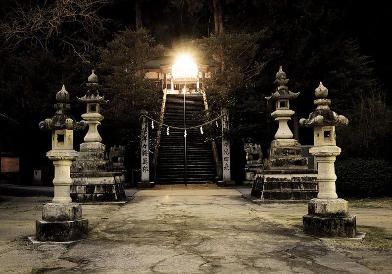 京都恐怖傳說 丑時參拜