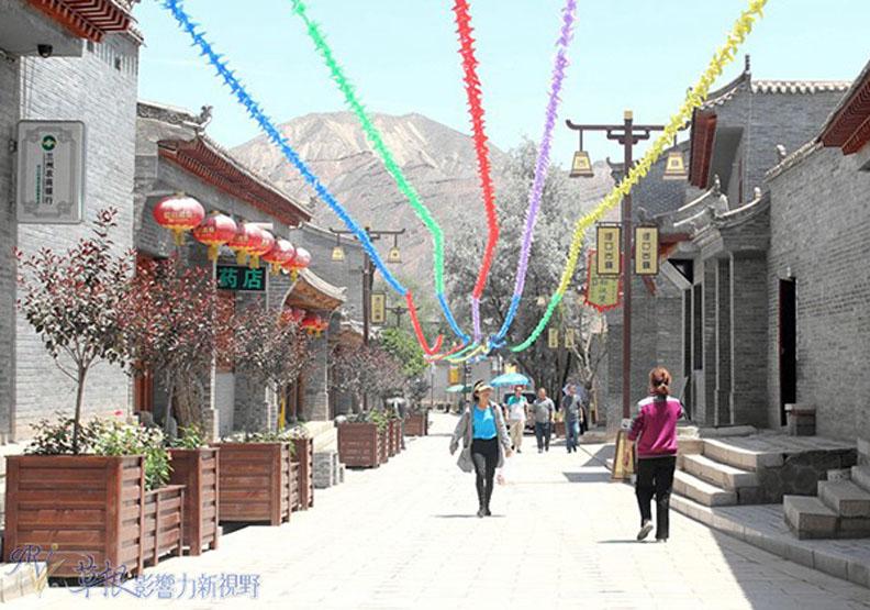 現代化的古代記憶 甘肅河口古鎮