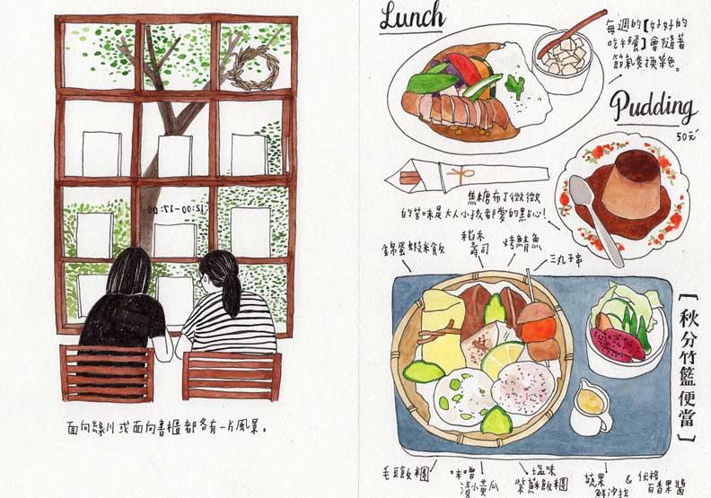 療癒系插畫家Fanyu 帶我們走進「手繪台中日常」