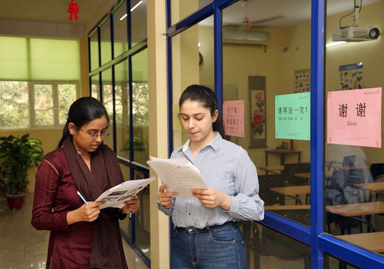 印度人醉心學中文  把握華語教育新顯學