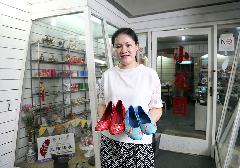 內需不足、外銷碰壁  小花園繡花鞋總店謝幕