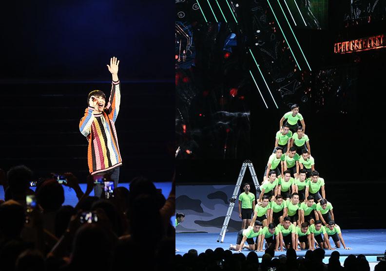 當蕭敬騰與亞運金牌選手聯合表演  場面會如何?