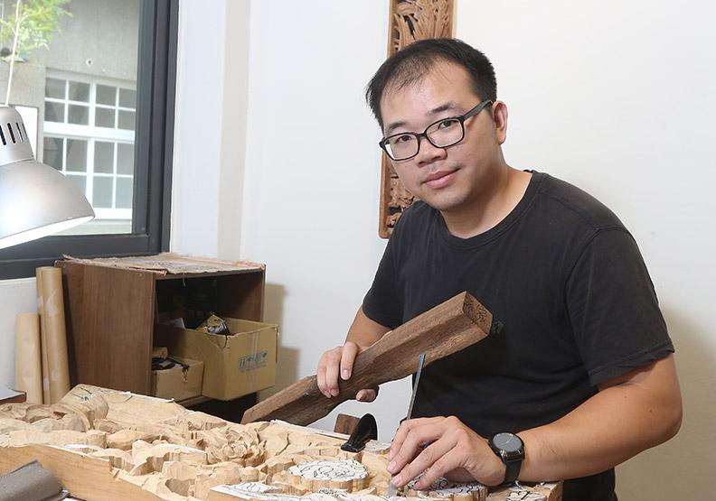 藝術所傳承台灣文化  從框架中尋求突破