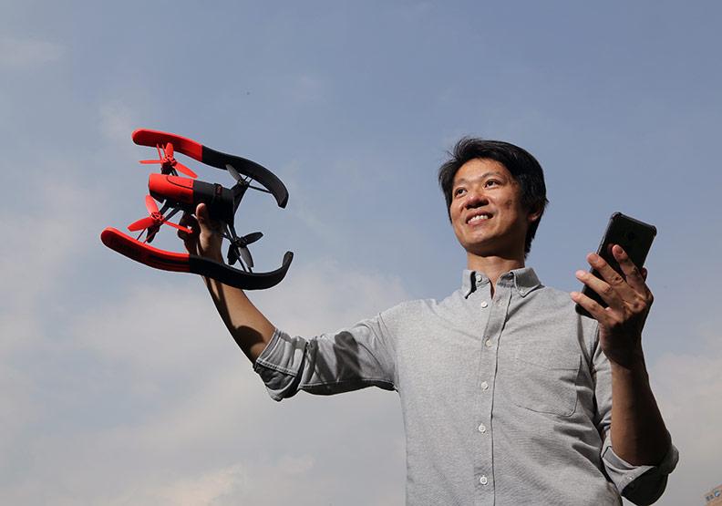 賴成家看好台灣軟體業  帶回智慧無人機技術