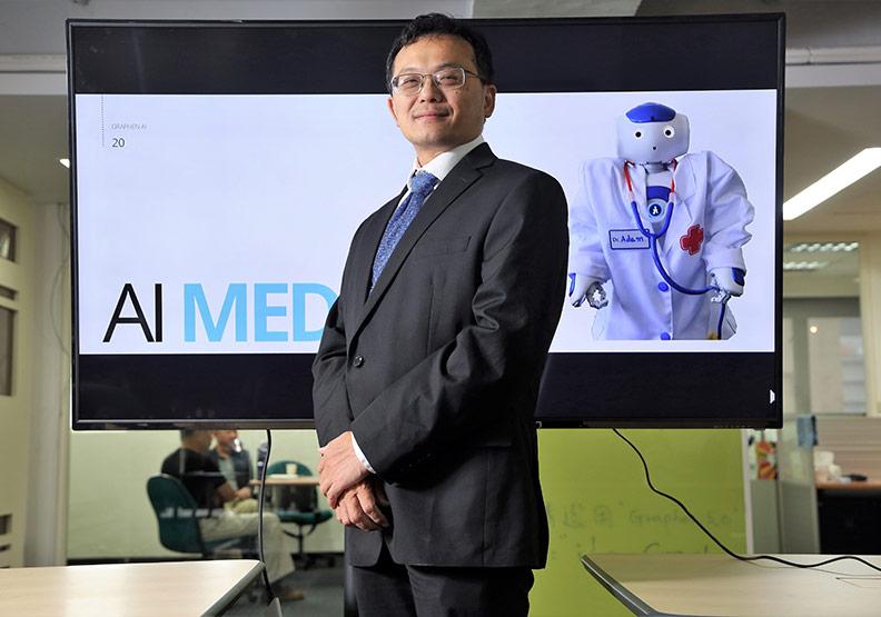 推動金融、醫療接軌AI  林清詠在台打造研發中心
